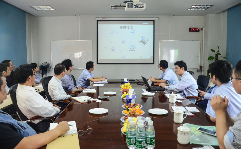 热烈欢迎深圳市比亚迪汽车工程有限公司领导莅临赛威指导工作